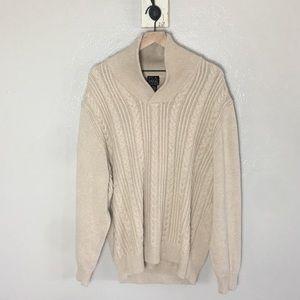 JOS. A. BANK • Men's Tan Executive Sweater